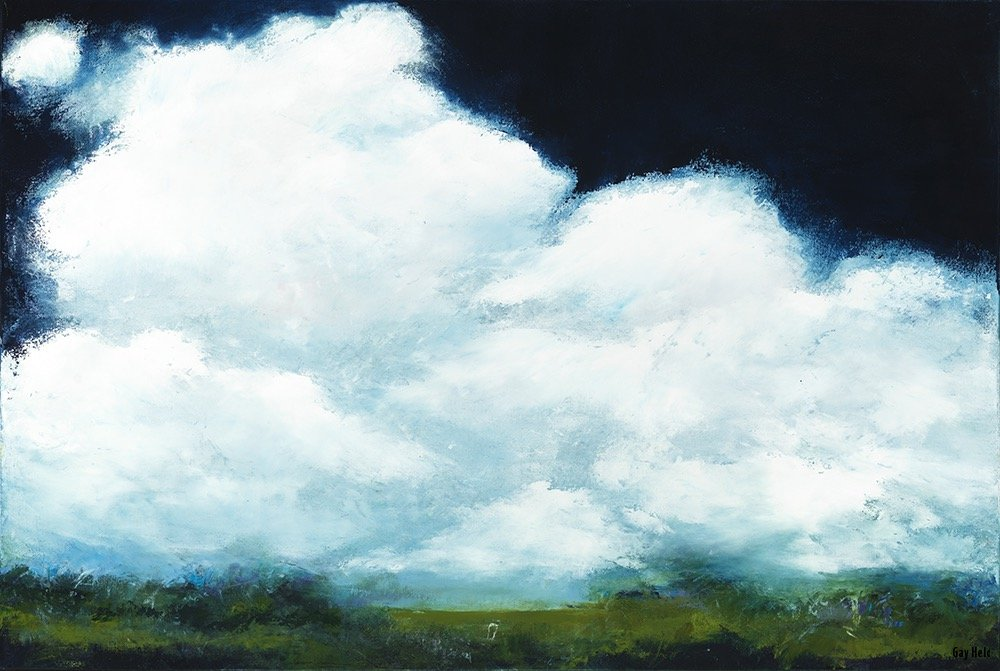 """(E) In the Clouds 24"""" by 36"""""""